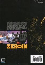 Verso de Zero In - À bout portant -2- Volume 2