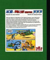 Verso de Zor et Mlouf -2- Contre 333 - album 2