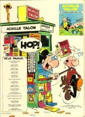 Verso de Achille Talon -15- Achille Talon et le quadrumane optimiste