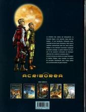 Verso de Acriboréa -5- La directive arca