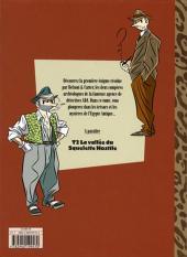 Verso de A.D.A. - Antique Detective Agency -1- Antique Detective Agency