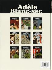 Verso de Adèle Blanc-Sec (Les Aventures Extraordinaires d') -9- Le Labyrinthe infernal