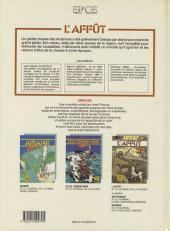Verso de L'affût - L'Affût et le journal de la chasse
