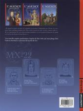 Verso de L'agence -3- Dossier Machu Picchu