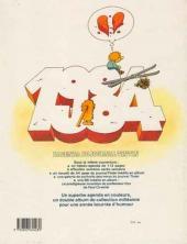 Verso de (DOC) Journal Tintin -3- L'Agenda du journal Tintin 1984