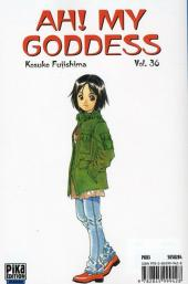 Verso de Ah! My Goddess -36- Tome 36