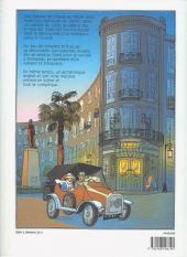 Verso de Aida Nur - Enigme au Caire