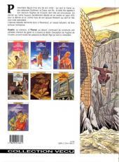 Verso de Les aigles décapitées -7- La prisonnière du donjon