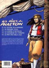 Verso de Les ailes du Phaéton -5- Le pays des mille lacs