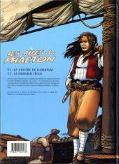 Verso de Les ailes du Phaéton -2- Le dernier Titan