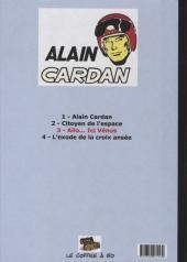 Verso de Alain Cardan -3- Allo... ici Vénus