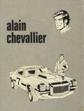 Verso de Alain Chevallier -1- Enfer pour un champion