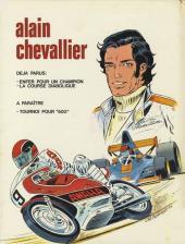 Verso de Alain Chevallier -2- La course diabolique