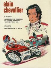 Verso de Alain Chevallier -3- Tournoi pour 500