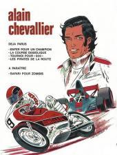 Verso de Alain Chevallier -4- Les pirates de la route