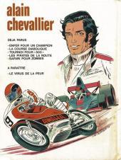 Verso de Alain Chevallier -5- Safari pour Zombis