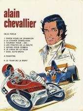 Verso de Alain Chevallier -7- Duel Auto Moto