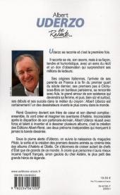 Verso de (AUT) Uderzo, Albert -2008- Albert Uderzo se raconte