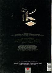 Verso de Alex Russac (Les aventures d') -2- Le cirque de dieu