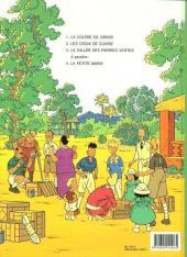 Verso de Alice et Léopold -3- La vallée des pierres vertes