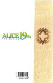 Verso de Alice 19th -2- Tome 2