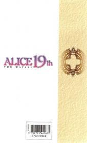 Verso de Alice 19th -3- Tome 3