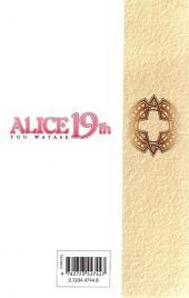 Verso de Alice 19th -7- Tome 7