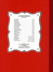 Verso de Alix (Fac-Similé) -5- La griffe noire