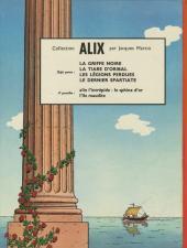 Verso de Alix -8- Le tombeau étrusque