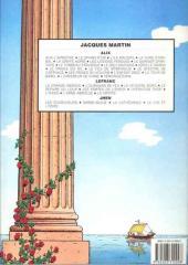 Verso de Alix -10b1986- Iorix le grand