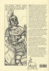 Verso de Alix -HS08- Icarios (carnet de croquis extrait de la chute d'Icare)