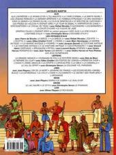 Verso de Alix (Les Voyages d') -20- Les Jeux Olympiques