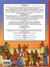 Verso de Alix (Les Voyages d') -22- Les Aztèques