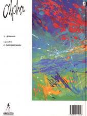 Verso de Alpha (Renard/Mythic/Jigounov/Lamquet) -1- L'échange