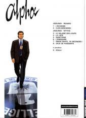 Verso de Alpha (Lombard) -8- Jeux de puissants