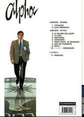 Verso de Alpha (Lombard) -10- Mensonges