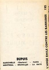 Verso de L'ange Emile -1MR1339- L'ange Émile contre les Barbudos