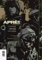 Verso de Après la guerre -1- Épisode 1/15