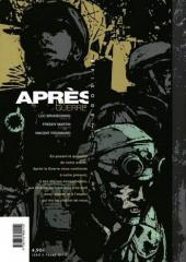 Verso de Après la guerre -2- Épisode 2/15