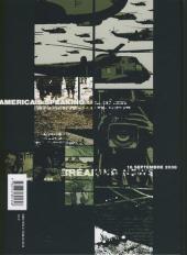 Verso de Après la guerre -1- Volume 1