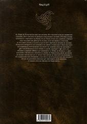 Verso de Les arcanes de Naheulbeuk -2- Des boudins et des Elfes
