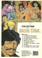 Verso de Archie Cash -10- Le chevalier de la mort verte