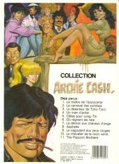 Verso de Archie Cash -11- The popcorn brothers