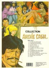 Verso de Archie Cash -15- Curare