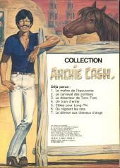 Verso de Archie Cash -8- Asphalte