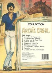 Verso de Archie Cash -9- Le cagoulard aux yeux rouges