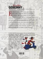 Verso de Les archives Goscinny -19561961- Le journal Tintin 1956-1961