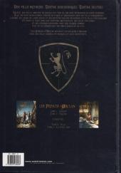Verso de Les princes d'Arclan -2- Sylène