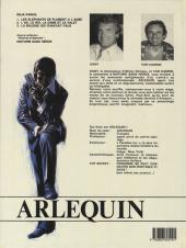 Verso de Arlequin -3- La baleine qui chantait faux