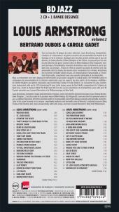 Verso de BD Jazz - Louis Armstrong - Volume 2